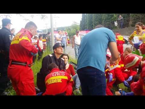 Accident in Tg Mures pe centura de legatura Cluj Sighisoara