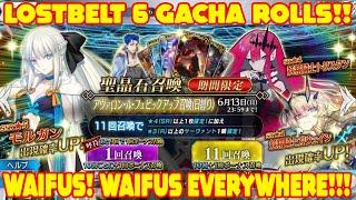 Fate/Grand Order LB6 Gacha Rolls!! Morgan, Fairy Gawain, & Tristan! LEGENDARY KITA RITUAL ROLLS!
