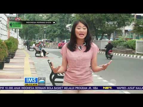 Live Report - Trotoar Ramah Pejalan kaki di Rawamangun