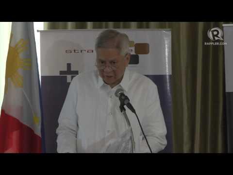 Former DFA chief Alberto Del Rosario raises questions on Duterte's China policy