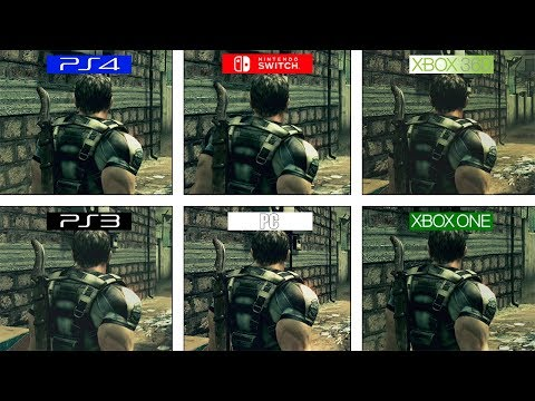 Resident Evil 5 | PS3 / 360 / ONE / PS4 / PC / Switch | All Versions Comparison