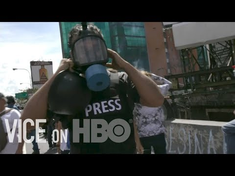 Venezuela's Anti Government Protests | VICE on HBO