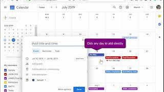 Export your Job Schedule to shared Calendar