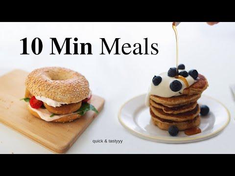 10 Minute Breakfasts for Busy Mornings! (vegan)