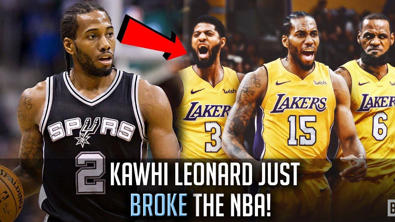 06444768f5f Kawhi Leonard To Join LeBron James! - How Kawhi Leonard SHOOK The NBA!