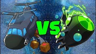 SUB VS HELI :: INSANE BANANZA LATEGAME TOWER BATTLE! :: Bloons TD Battles