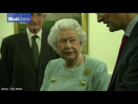 The Queen meets Patricia Baroness Scotland back in 2014