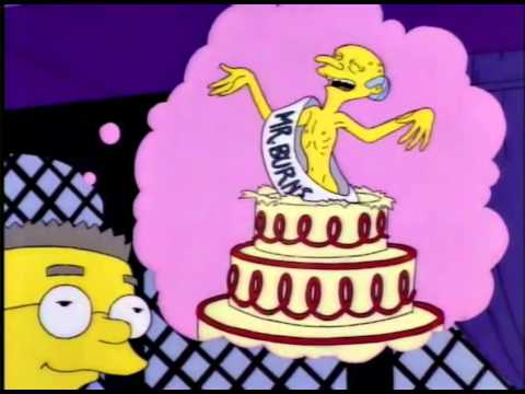 Feliz cumpleaños señor smithers!   Latino