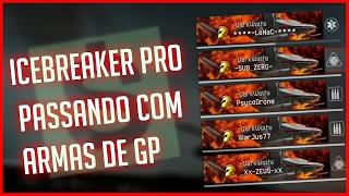 WARFACE: Icebreaker Pro - Passando  com armas e equipamentos de GP