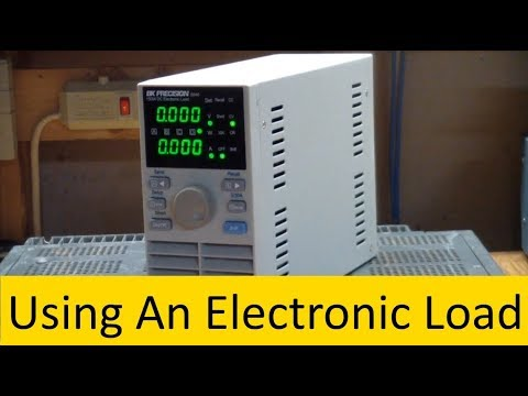 AE50 Using A BK 8540 Electronic Load