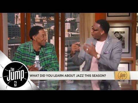 Scottie Pippen and Tracy McGrady argue about Rudy Gobert and Big Men | The Jump | ESPN