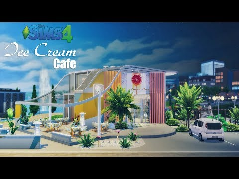 Ice Cream Cafe • Shop | No CC | Stop Motion | THE SIMS 4