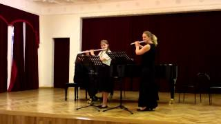 L. Delibes. Flower Duet from Lakme (2 flutes)