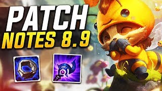 Patch notes 8.9 w/Scarra!