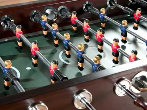 American Heritage Cambridge Foosball Table - YouTube