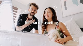 Gambar cover He's So Distracting! | October Vlog
