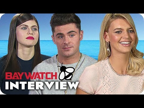 BAYWATCH Interview: How to become a Lifeguard at Baywatch? (2017)