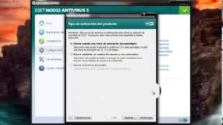 Descargar ESET NOD32 Antivirus 5 32 y 64 bits full.mp4