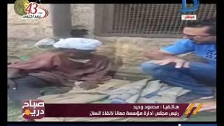 بالفيديو.. مسن بلا مأوى يرفض الذهاب للمستشفى لخوفه على كلاب الشوارع