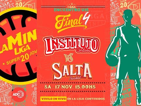 #Super20Joven | 17.11 Instituto vs. Salta Basket