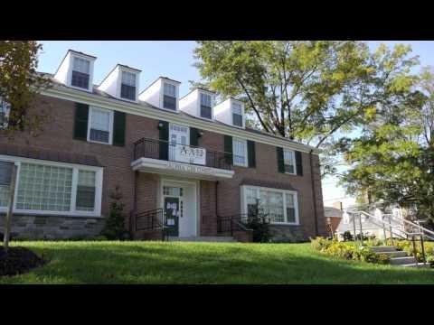 Fraternity & Sorority Houses at the University of Maryland