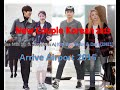 Lee Min Ho with Suzy(Miss A) and Kim Soo Hyun with Dara(2NE1) New 2015 AIrport 2015