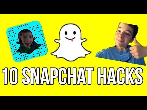 10 Snapchat Hacks!