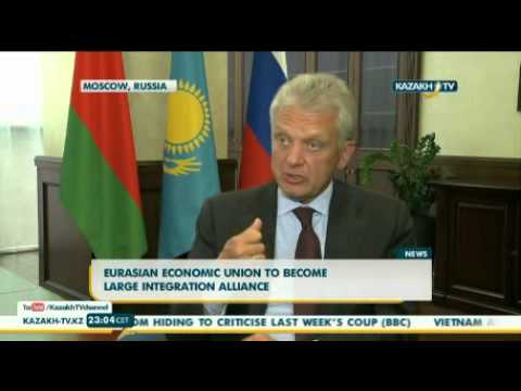 Eurasian Economic Union to become large integration alliance