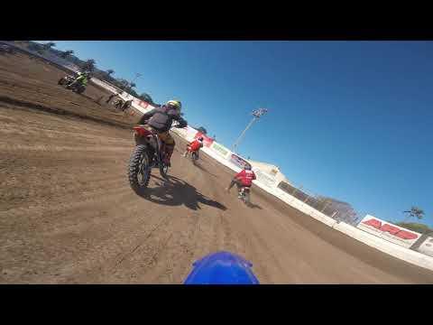 Ventura Raceway Flat Track Practice 125cc TTR125