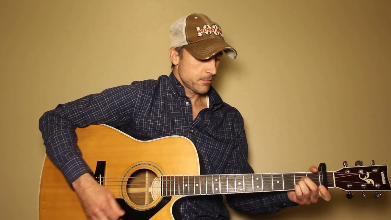 Long Black Train Josh Turner Guitar Lesson Tutorial Youtube
