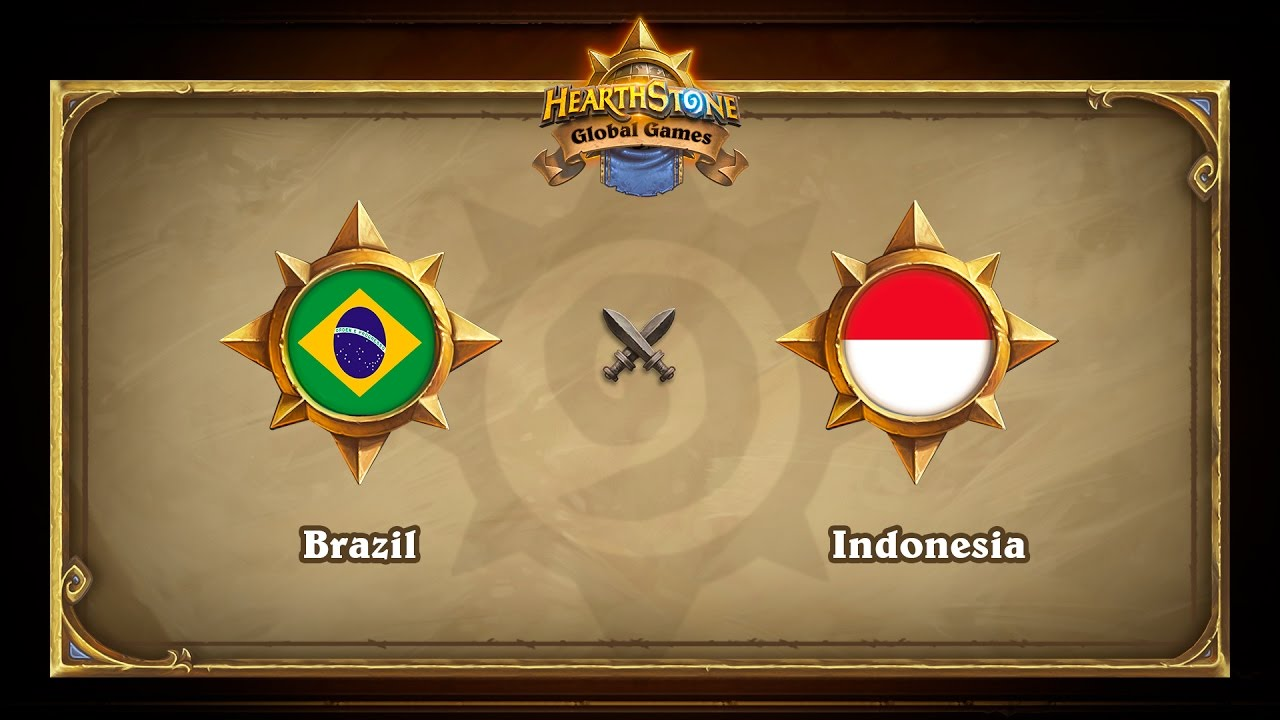 Brazil vs Indonesia, Hearthstone Global Games Group Stage