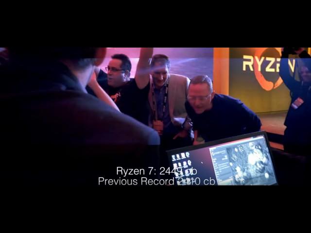 AMD Ryzen 7 1800X Cracks Cinebench R15 World Record | eTeknix