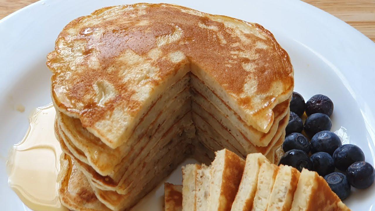 Fluffige Bananen Pancakes - einfacher geht´s kaum !