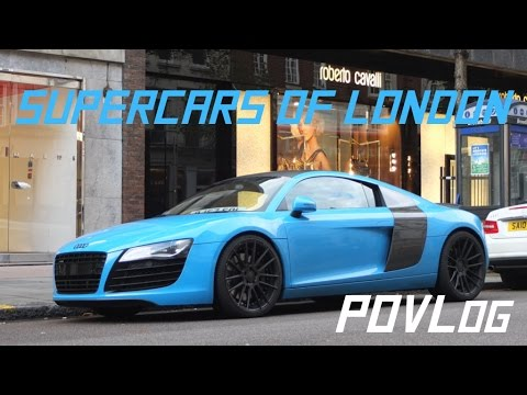 Povlog Supercars Of London Dmc Aventador Instagram Youtube
