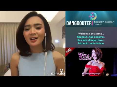 Gerimis Melanda Hati Duet WikaSalim Karaoke Bareng Artis