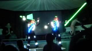 """Aliens"" - Light go-go show (световое гоу-гоу шоу) в Одессе"