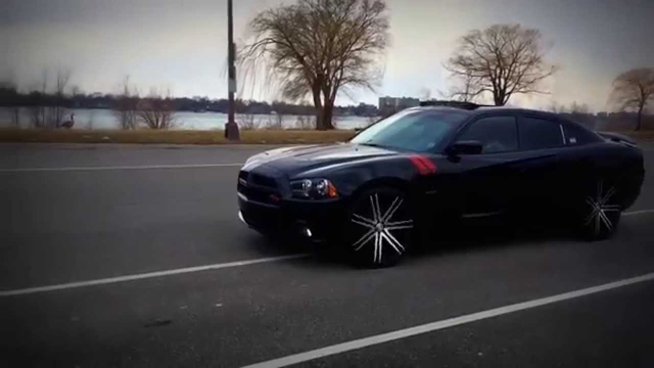 Notorious Joe Custom 2014 Dodge Charger R T On 24s Launch