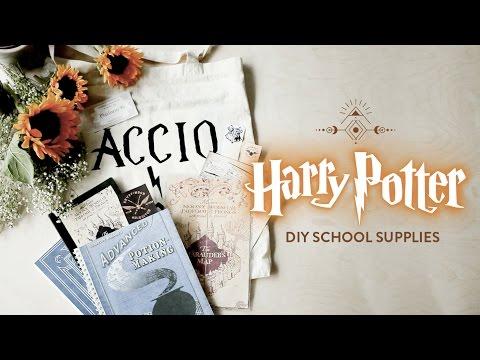 DIY Harry Potter School Supplies // Гарри Поттер