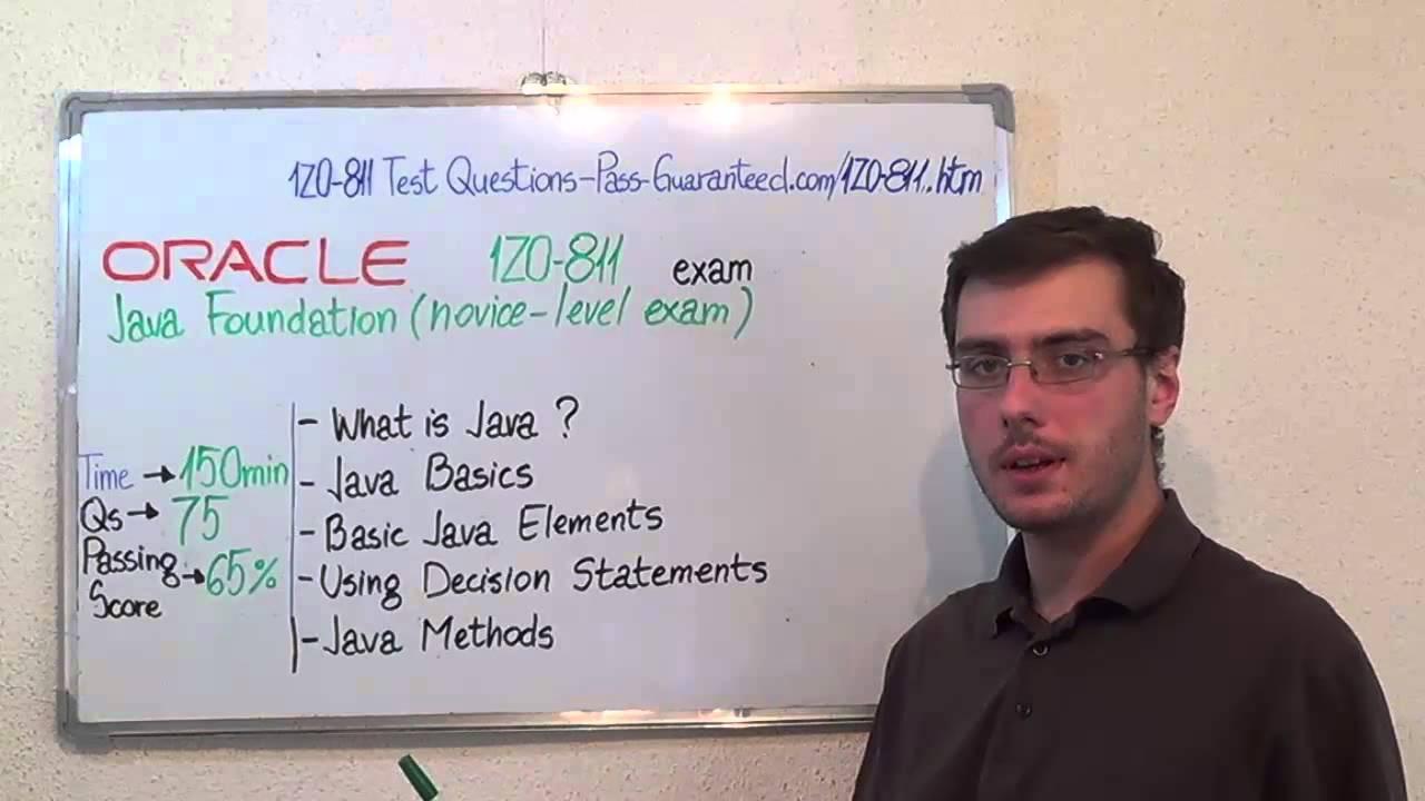 1z0 811 java exam foundations test novice level questions youtube 1z0 811 java exam foundations test novice level questions 1betcityfo Image collections