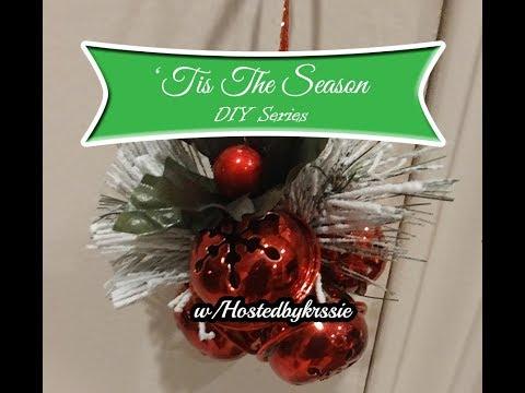 'Tis The Season DIY Series #4 w/Hostedbykrssie 🎄🔔Jingle Bells Door Hanger🔔🎄