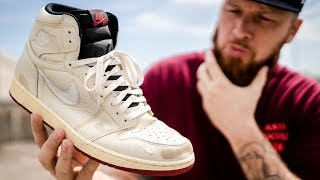 update: AFTER WEARING THE AIR JORDAN 1 NIGEL SYLVESTER FOR 1 MONTH! (Pros & Cons)