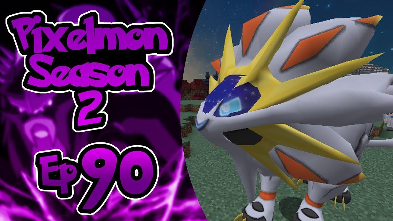 Pixelmon Season 2 Ep 90 Solgaleo And Troll Legendary Spawns