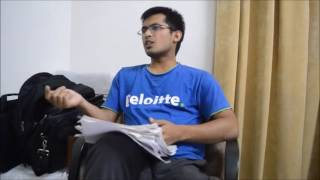 UPSC 2015 Rank 25 Chandra Mohan Garg Interview.