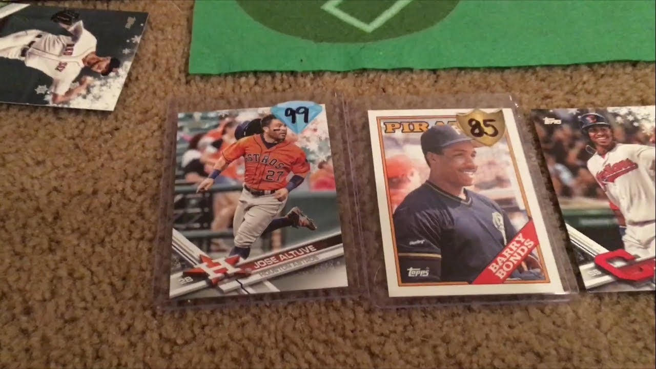 Mlb The Show Except We Play With Real Baseball Cards