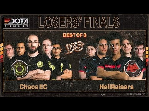 Chaos Esports Club vs HellRaisers vod