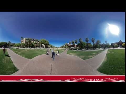UA Mall 4K Vuze 360 3D Test