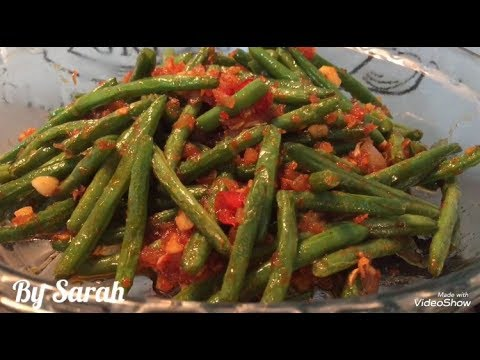 Spicy Green Beans Recipe - Chinese Style