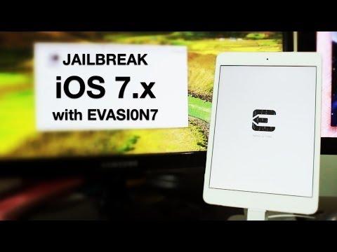 How To Jailbreak IOS 7 Untethered Using Evasi0n7 (Mac)