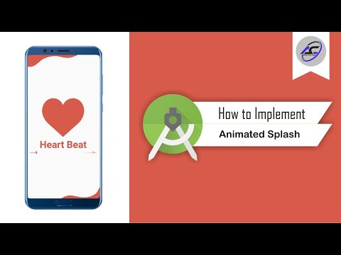 How To Implement Animated Splash Screen In Android Studio | AnimatedSplashScreen | Android Coding