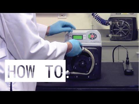 Flex-Pro® A3 Peristaltic Pump - Tube Replacement Instruction - Blue-White Ind.